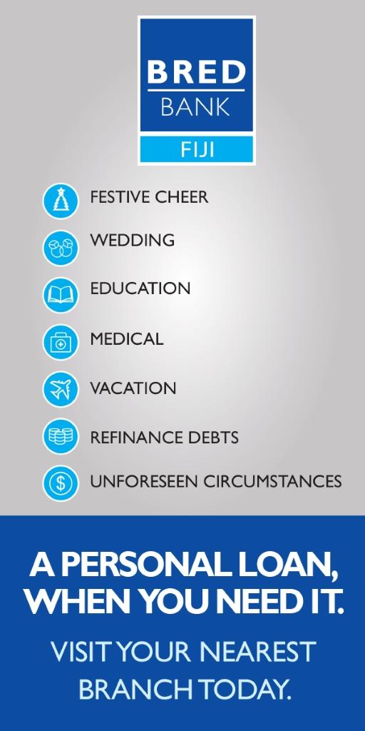 BRED Bank Fiji - Personal Loans